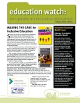 Education Watch Fall 2011