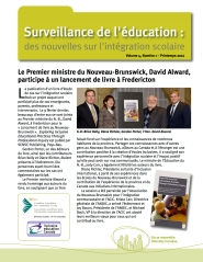 Education Watch Spring 2012 French