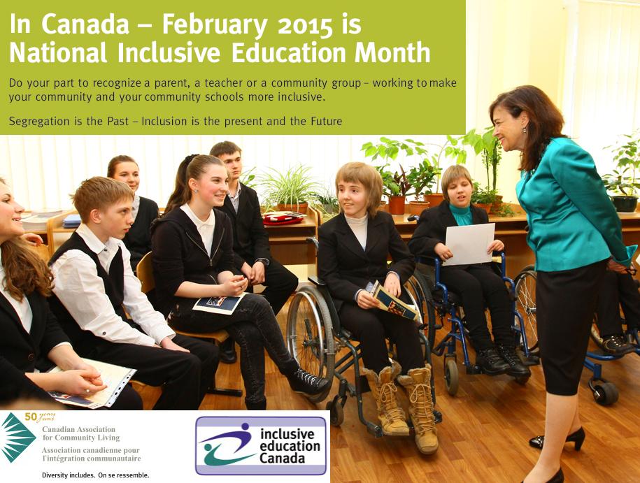 Inclusive Education Month 2015 1