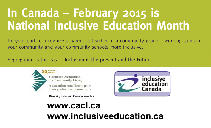 Inclusive Education Month 2015 3