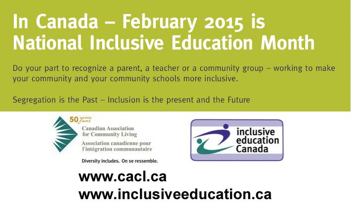 Inclusive Education Month 2015 3
